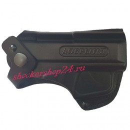 Кобура поясная для аэрозольного пистолета Добрыня (формованная)