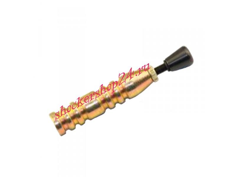 Однозарядное мини устройство для запуска сигнала охотника (золотое)